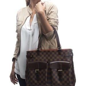 Auth Louis Vuitton Uzes Damier Ebene #1614L51